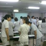 総合病院の新入職員スタートアップ研修受講者の声